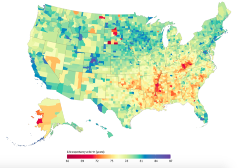 20 Year Life Expectancy Gap Between Richest, Poorest Counties In U.S., Study Finds