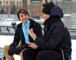 The bromance is a increasingly common bond between young straight males, new study finds.