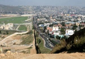 Border between United States and Mexico