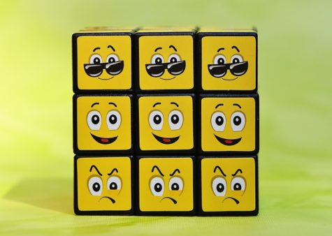 Emoticon and emoji Rubix cube