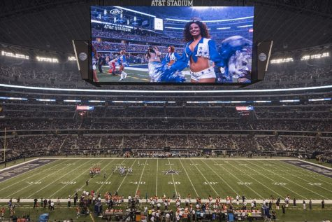 AT&T Stadium in Dallas