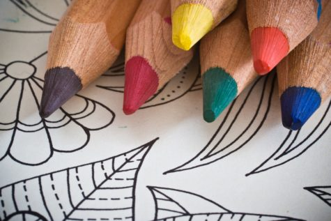False Advertising? Adult Coloring Books Can Ward Off The Blues, But Don't Beat Art Therapy