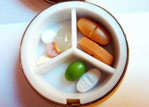 Pills, vitamins, supplements