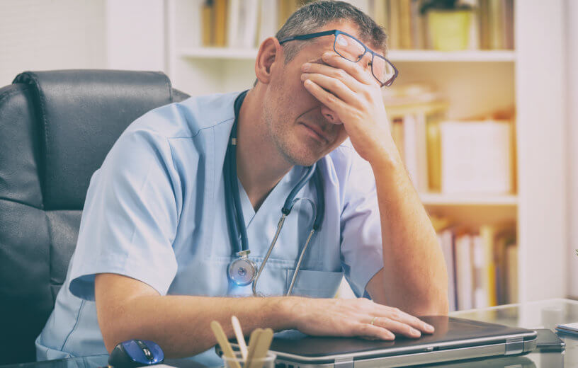 Physician burnout jumps dramatically in 3-year study