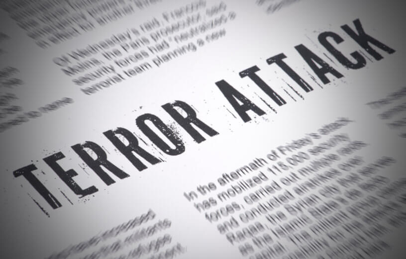 Terror Attack newspaper