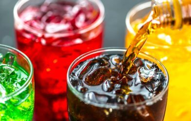 Sugary drinks, sodas
