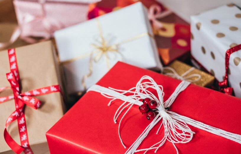 Holiday presents and gifts
