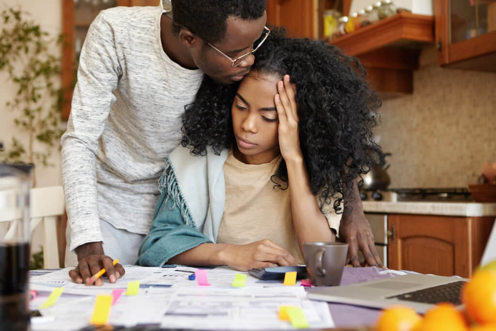 Money Matters: Financial Stress Literally Making 2 In 5