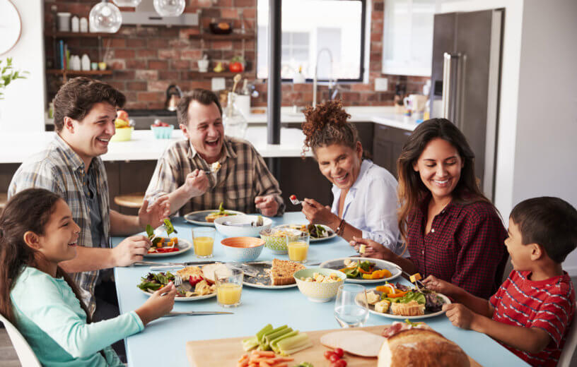 Friends, Family, And Food: People Eat More When Dining With Close  Companions - Study Finds