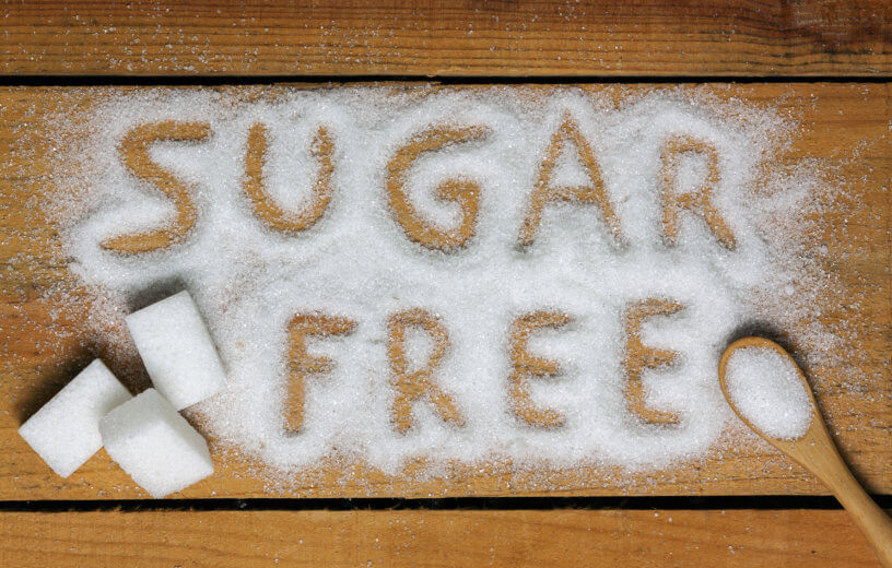 Sugar free, artificial sweetener