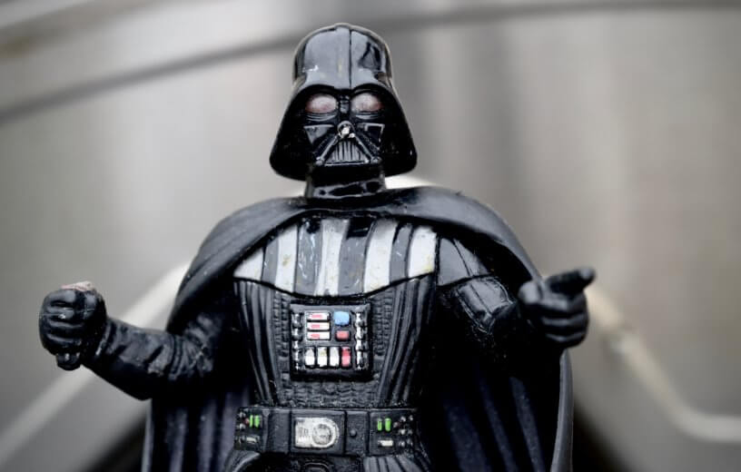 Darth Vader figure from Star Wars