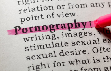 Pornography in dictionary