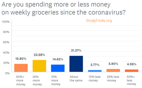 Coronavirus Survey: Grocery Spending
