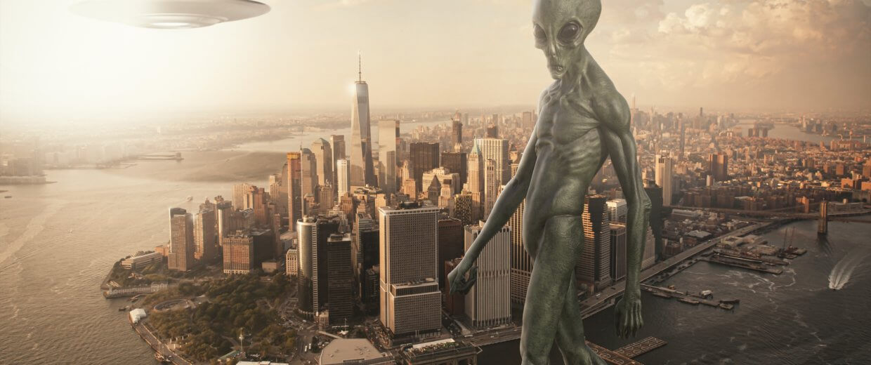 Aliens invade NYC