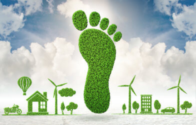 Carbon footprint - environment, going green