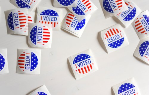 'I Voted' Stickers From Election Day Poll Places