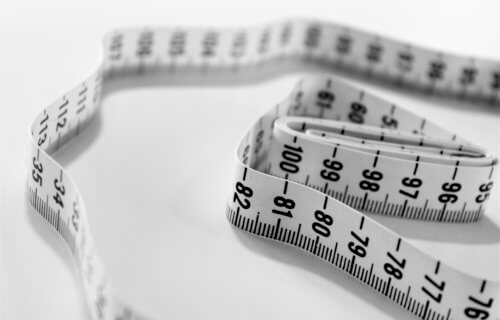 Measuring tape for dieting