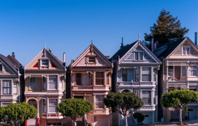 San Francisco neighborhood, houses