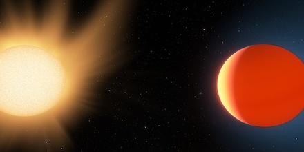 Exoplanet In Space