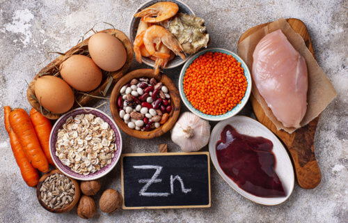 Foods with high levels of Zinc