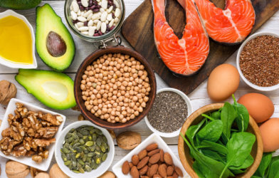Foods rich in Omega 3 fatty acids; Healthy Mediterranean diet foods