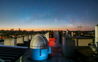 UWA rooftop observatory