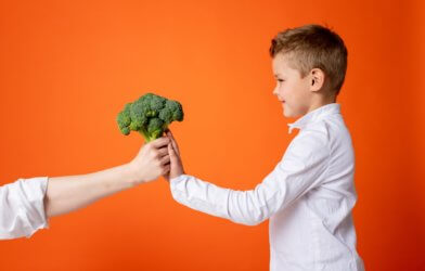 child vegetables diet