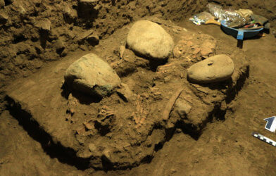 Ancient human remains found