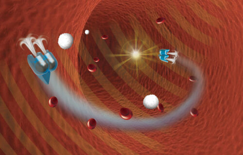 Micro-Robots To Deliver Drugs Inside Humans