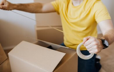 white person moving